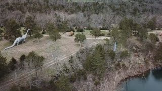 Abandoned Dinosaur Theme Park Found In Forest