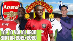 TOP 10 - VALIOLIIGA SIIRROT 2019/2020