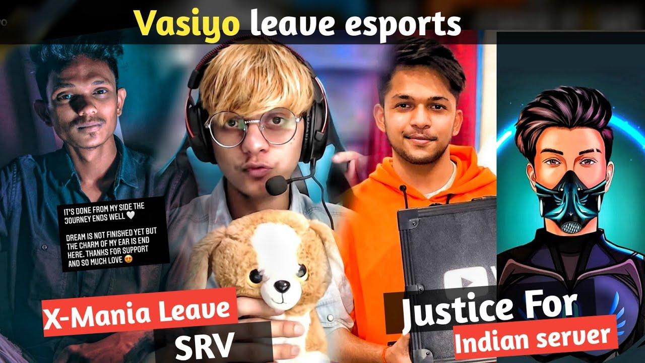 Vasiyo leave esports || X-Mania Leave srv || lokesh gamer diamond play button || skylord react