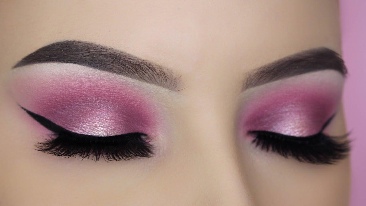Pink Halo Eye Makeup Tutorial