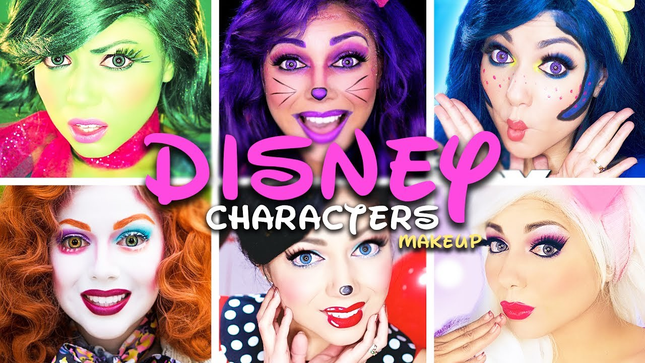 disney-characters-makeup-compilation-charisma-star