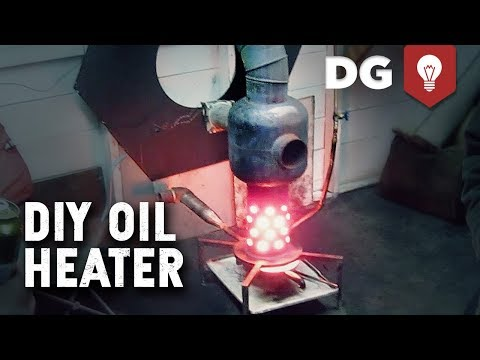 Mike's DIY Waste Oil Heater