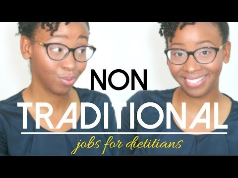 4 Non-Traditional Jobs For Registered Dietitians