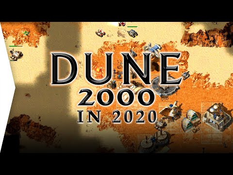 Dune 2000 Remastered in 2020! ► Classic RTS Strategy Gameplay Remade Again - OpenRA Mod