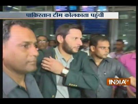 Pakistan Team Arrives in Kolkata amid Tight Security for ...