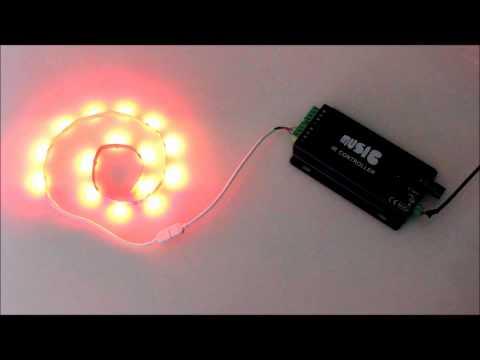 LED Musik Steuergerät V2