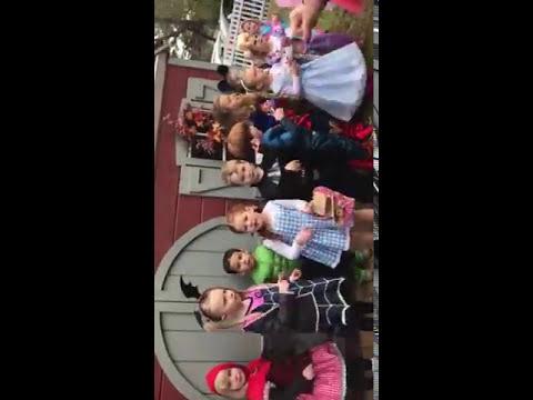 Breezy Point Day School Halloween Parade, 2017