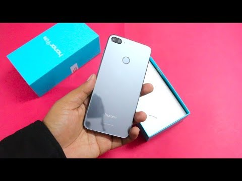 Honor 9 Lite India Unboxing, Hands on, Camera, Features | Quad Camera  Smartphone