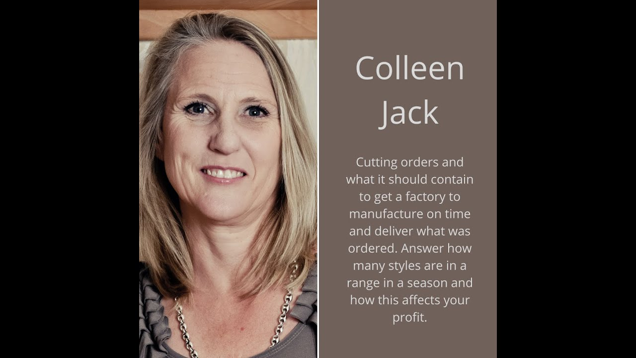 Download Cutting Orders... how to set them up and why they are important, by Colleen Jack