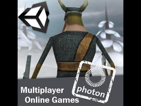 Как создать сетевую игру (мультиплеер) в Unity3d (UNET урок 1)