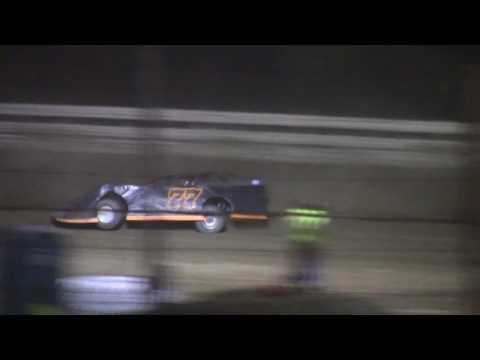 Hummingbird Speedway (8-6-16): BWP Bats Steel Block Late Model Feature