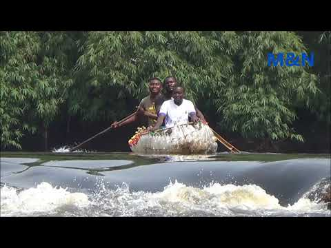 Adventure with Ecoboat as kayak on kribi River in Cameroon