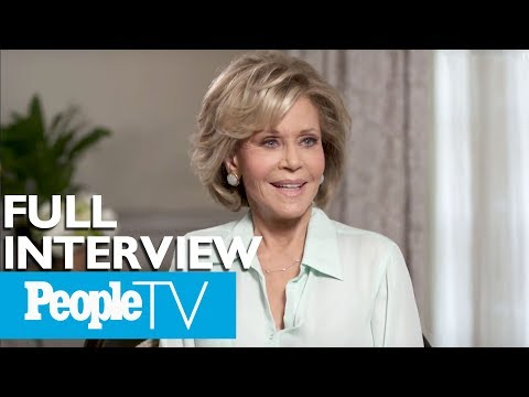 Jane Fonda On Her New Documentary, The Men In Her Life & More FULL  Entertainment Weekly