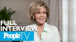 Jane Fonda On Her New Documentary, The Men In Her Life & More (FULL) | Entertainment Weekly thumbnail