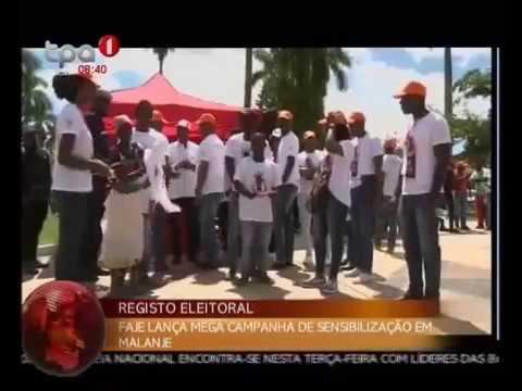 FAJE lança mega campanha de sensibilização em Malanje