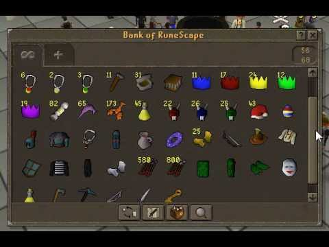 The richest bank in all Runescape - YouTube