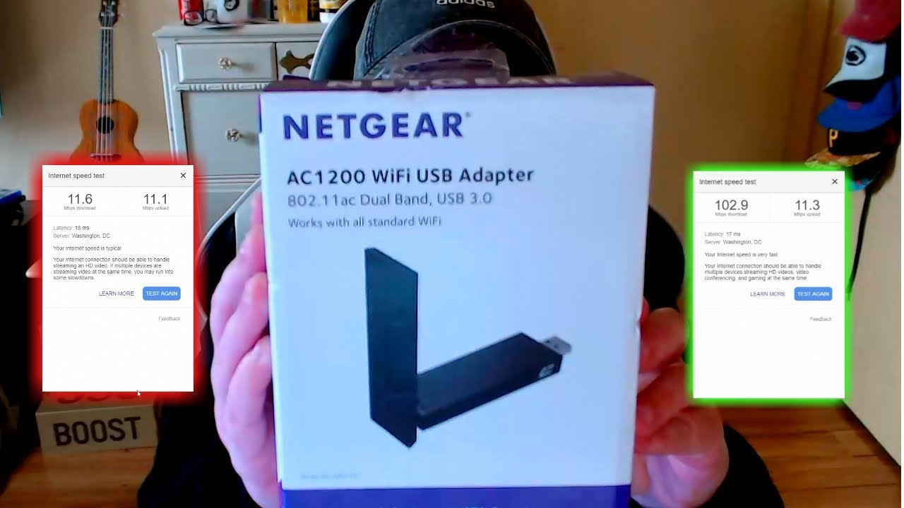 NETGEAR AC1200 WIFI ADAPTER REVIEW AND SETUP (2018)