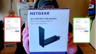 Zapętlaj NETGEAR AC1200 WIFI ADAPTER REVIEW AND SETUP (2018) | Those Gamer Girls