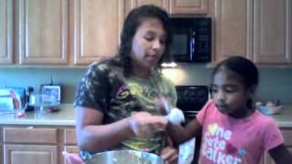 Cooking With Kids: Mini Maple Chocolate Chip Pancake Muffins