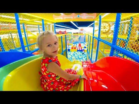 ВЛОГ Развлекательный центр с игрушками - Видео для детей | Папа Шон Кидс