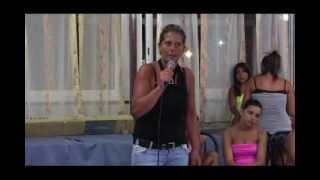 Karaoke - Tiziana canta LIU' degli Alunni del sole