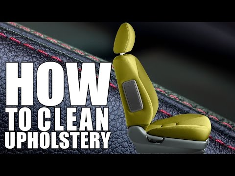 How To Clean Upholstery - Carpet & Upholstery Power Drill Brush - Chemical Guys
