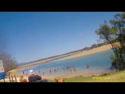 Beaches at Nambucca Heads in NSW Australia