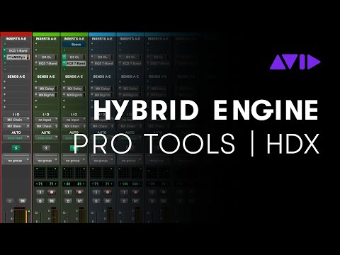 The Hybrid Engine for Pro Tools   HDX