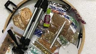 Materials for Aari embroidery  live online course
