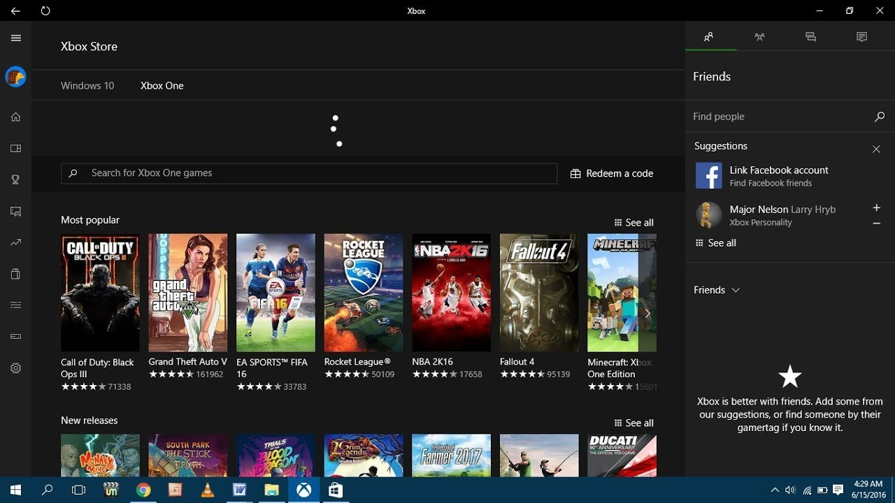 how to play xbox games on windows 10
