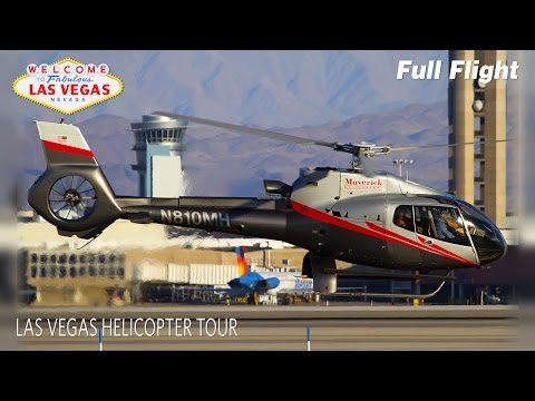 Las Vegas Helicopter Tour Full Flight | Maverick Helicopters | Eurocopter EC130 (2.7K)
