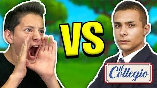MIO TEAM vs TEAM del COLLEGIO! *SFIDA EPICA* 😱 FORTNITE 2