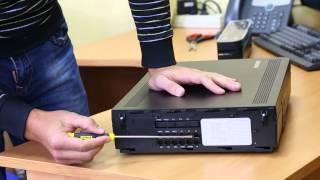 АТС Samsung OfficeServ 7070 (OS7070) - краткий обзор для сайта www.it46.ru