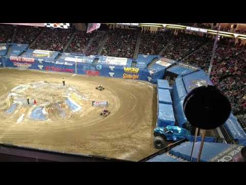 Monster jam Sacramento 2017
