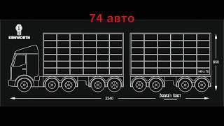 Детская полка-грузовик Toy Truck для игрушечных машинок