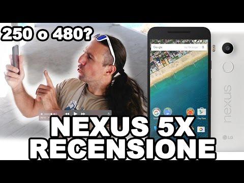 Nexus 5X Recensione! Al primo compleanno invecchia bene o male?