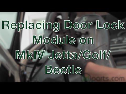 Replacing the Door Lock Module on a MkIV Jetta/Golf/New Beetle
