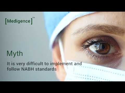 Myths about NABH, by NABH consultants - Medigence