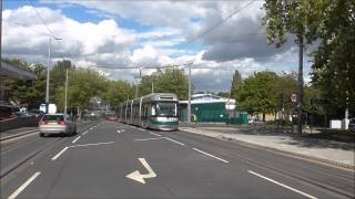 NOTTINGHAM TRAMS  AUGUST 2015