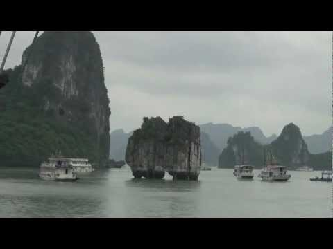 Travel Vietnam - Life living in the Halong Bay Ocean without home in the land by Hmongpicture