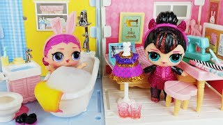 Baby doll house and dress toys play story - ToyMong TV 토이몽