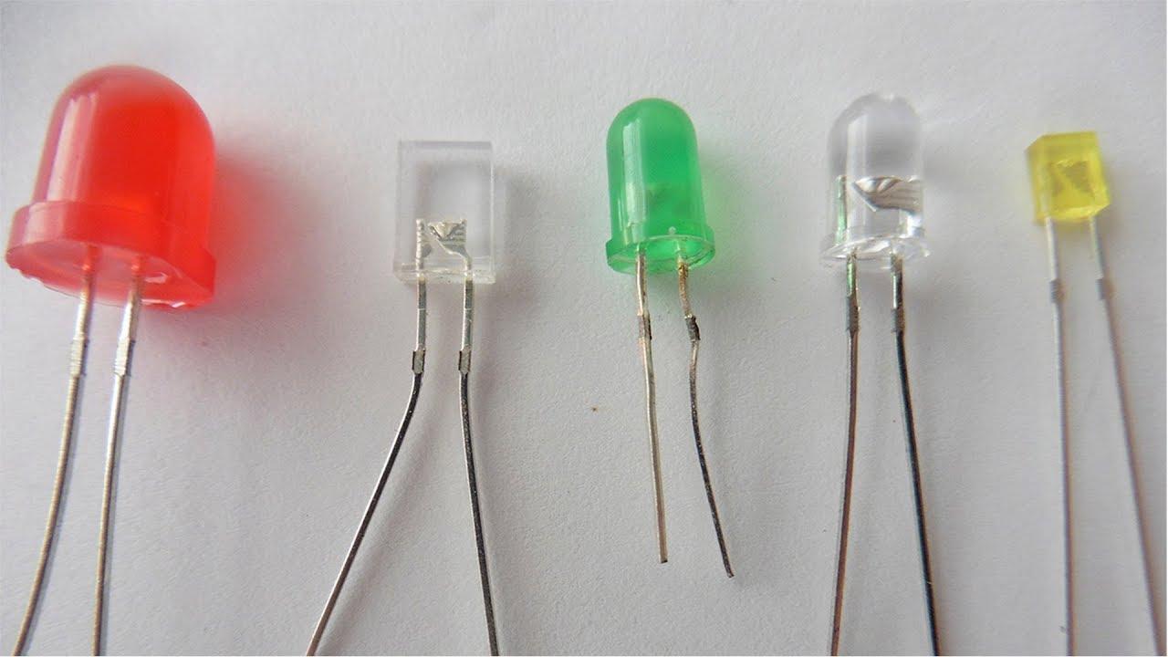 Как определить параметры светодиода