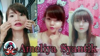 Tik Tok Syantik Ameliya [ Sexy Lips & Chubby Cheeks] #HOT