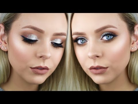 Dramatic Silver Prom Makeup Tutorial