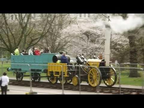 The Rocket - Replica of Stephenson's 1829 Steam Locomotive