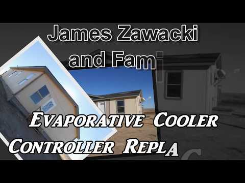 Evaporative Cooler Controller Replacement on MasterCool MCP44