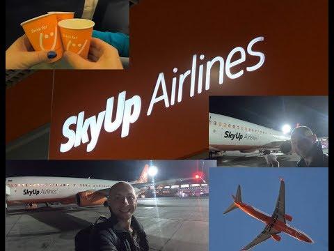 SkyUp Airlines - Сама лучшая авиакомпания в Украине,  Наш перелет Киев - Шарм Эль Шейх ОБЗОР