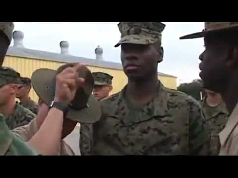 us marine corps drill instructor vs us army drill sergeant youtube