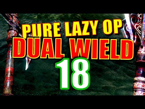 Skyrim Pure Lazy OP Dual Wield Walkthrough Part 18: The Silver Blood Family Ring [1/2] thumbnail