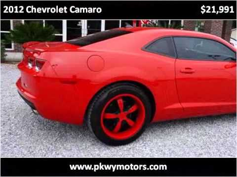 2012 chevrolet camaro used cars panama city fl youtube. Black Bedroom Furniture Sets. Home Design Ideas